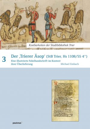 Eine ganz besondere Handschrift der Fabelsammlung liegt mit dem Trierer Äsop in der Stadtbibliothek Trier vor. Diese wird hier wiedergegeben und interpretiert, gut verständlich, interessant und lehrreich.