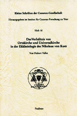 Der Text konzentriert sich auf interessante Aspekte im Verhältnis von Ortskirche und Universalkirche, mit besonderem Hinblick auf das Denken des Nikolaus von Kues zu diesem Thema.
