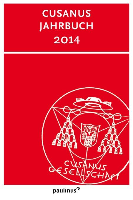 Im Cusanus Jahrbuch 2014 finden sich Berichte und Besprechungen zu Nikolaus von Kues und zu der Cusanus Gesellschaft selbst. Durch Abbildungen ergänzt