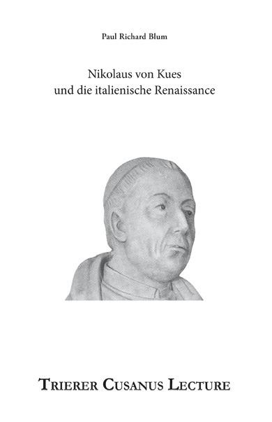 Dieses Buch setzt Nikolaus von Kues und die italienische Renaissance in den Mittelpunkt und diskutiert welchen Beitrag der Cusaner zu seiner Zeit leistete.