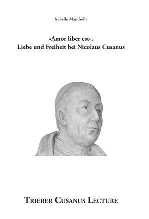 Dieses Buch gibt einen Vortrag wieder, den Isabelle Mandrella bei der Cusanus Lecture 2015 zum Thema Amor Liber Est bei Nicolaus Cusanus hielt.