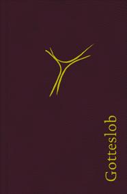 Dieses Gotteslob in Leder Bordeaux mit Goldschnitt enthält Anleitungen für Sakramentsfeiern, Liturgie, Litaneien und vieles mehr