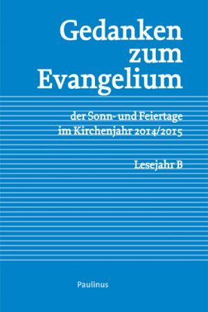 Dieses Buch besteht aus zwei Teilen. Den Gedanken zum Evangelium und Kommentaren zu eben diesen. Die Texte können vor allem hervorragend zur Vorbereitung auf Wort-Gottes-Dienste genutzt werden.