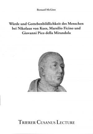 Auf interessante aber verständliche Art diskutiert Bernhard McGinns die Ideen und Einstellungen die drei bedeutende Denker der Renaissance zu Würde und Gottebenbildlichkeit des Menschen hatten.