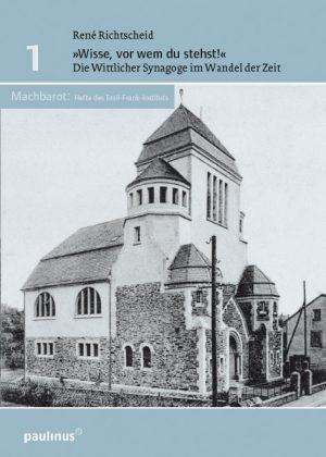 Die Entstehung und Geschichte der Wittlicher Synagoge, geht auf dieses Bauwerk ein. Warum es entstand, seine Rolle während des zweiten Weltkriegs und heute. Es spricht außerdem das Leben von Juden in Wittlich vor und während des zweiten Weltkriegs an.