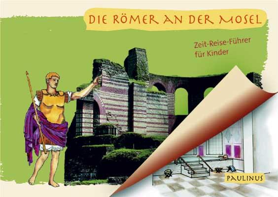 24 Stationen in denen die Römer an der Mosel erforscht werden können, mit spannenden Informationen und Quiz für Groß und Klein