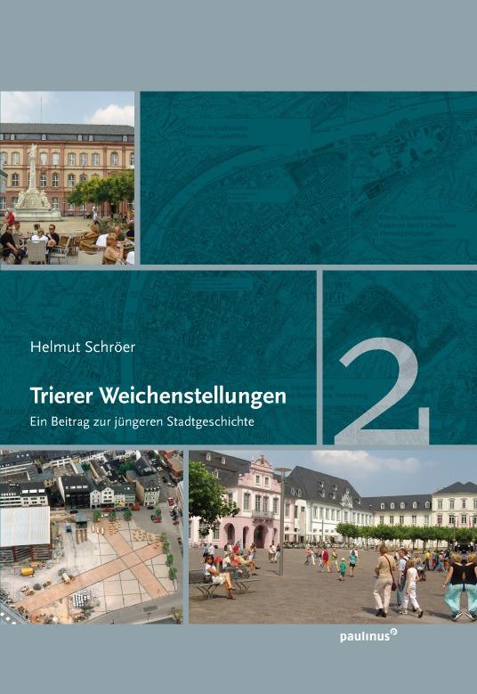 Der zweite Band konzentriert sich auf die wichtigsten Trierer Weichenstellungen die seit den 1970 Jahren stattgefunden haben. Dabei geht es vor allem auf die großen Veränderungen in der Innenstadt ein.