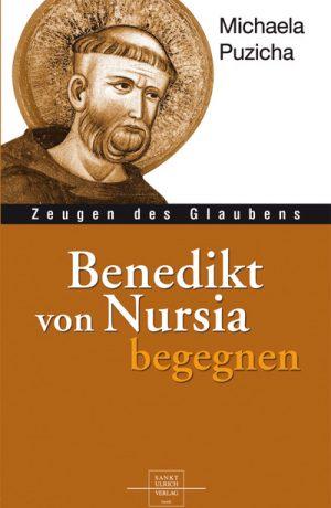 """Die Autorin widmet sich hier hingebungsvoll dem interessanten Leben und Wirken des Benedikt von Nursia, dem Verfasser der Benediksregel """"ora et labora"""" - bete und arbeite, welche eine ganze Epoche bestimmte."""