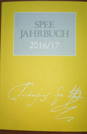 Friedrich Spee Jahrbuch 2016/2017